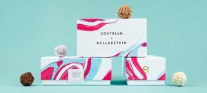 Identidad corporativa de Costèllo + Hellerstein, por Robot Food