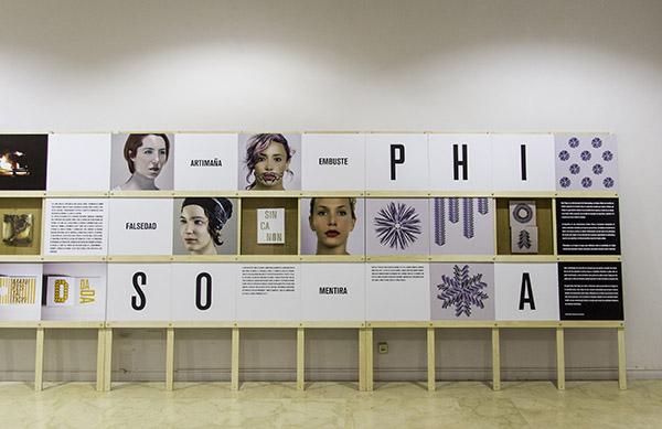 Philosophia, una acción de protesta de Xosé Teiga
