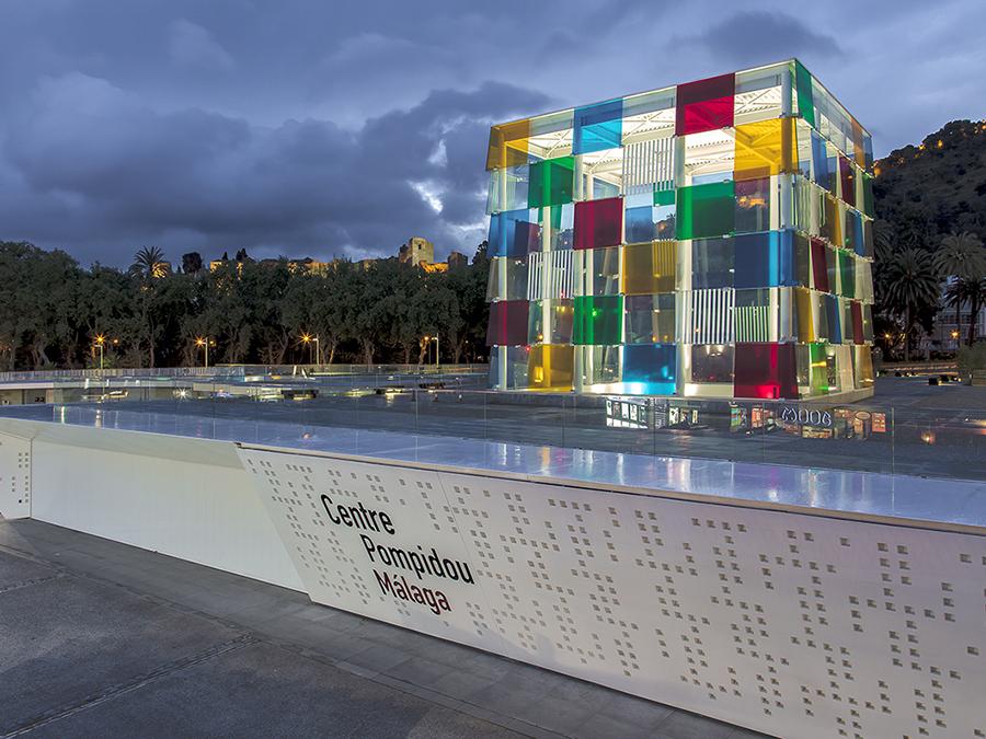 Cemento transparente para el nuevo Centro Pompidou de Málaga