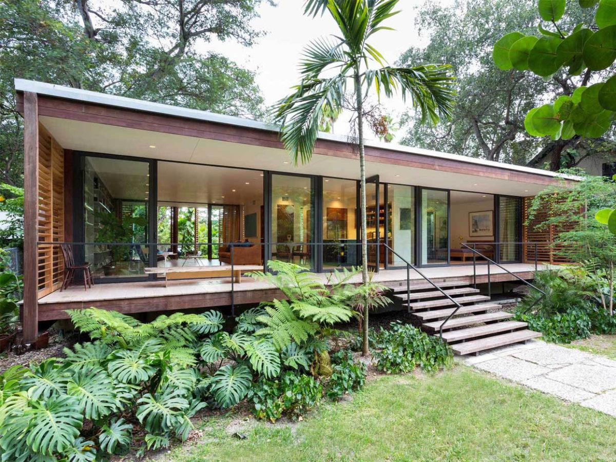 Brillhart House, un refugio familiar de Brillhart Architecture