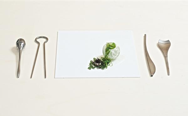 Fungi Cutlery, la cubertería para una nueva generación de alimentos
