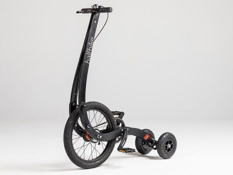 Halfbike II, segunda versión de la bicicleta plegable de Kolelinia