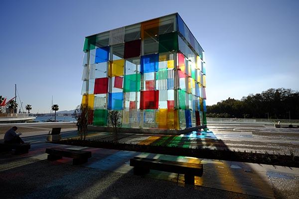Centro Pompidou de Málaga, 2015.