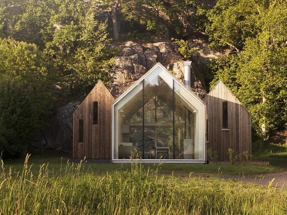 Micro Cluster Cabins: la geometría articulada de Reiulf Ramstad Arkitekter