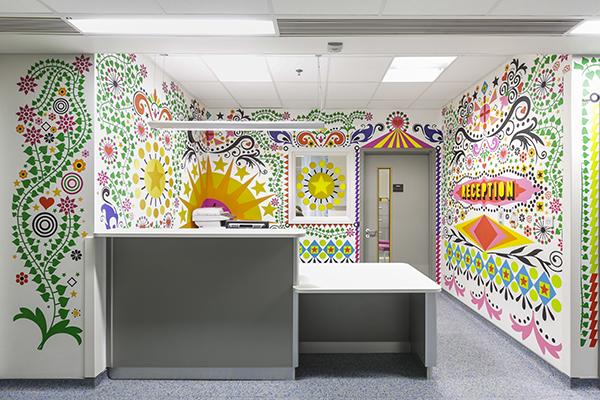 The Royal London Children's Hospital, interiorismo de Vital Arts