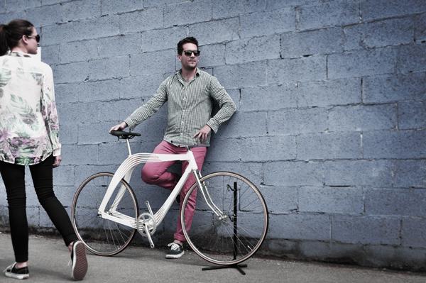 Aero, la bicicleta de madera que nació de la arquitectura