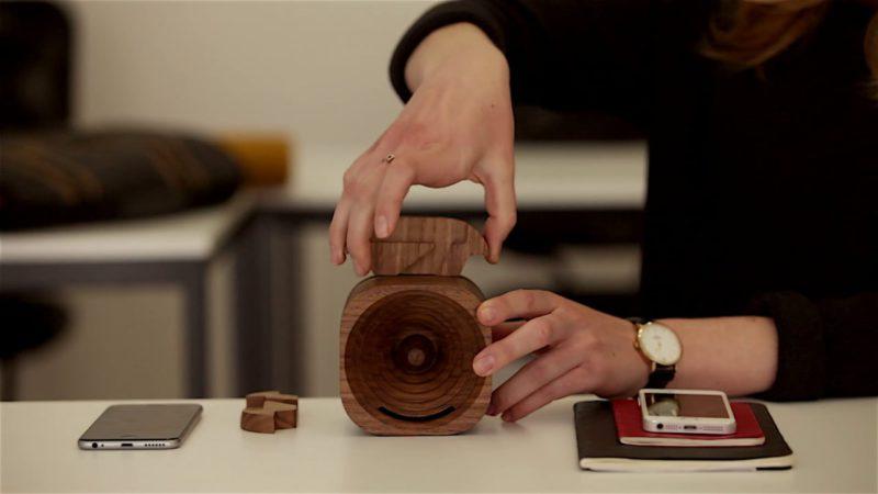Trobla, el altavoz de madera para smartphones de Tok Tok