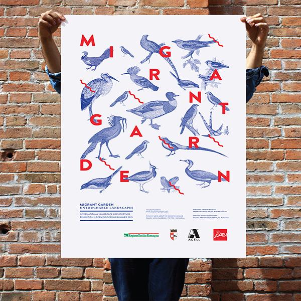 Migrant Garden, exposición en la Universidad Politécnica de Milán
