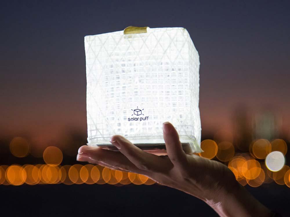SolarPuff, una luz para Haití. Diseño de emergencia