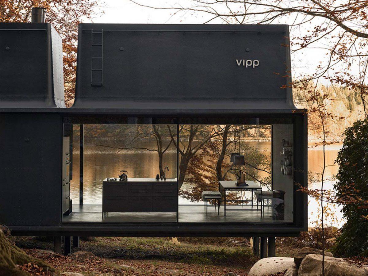 Vipp Shelter, un refugio en la naturaleza. Diseño nórdico
