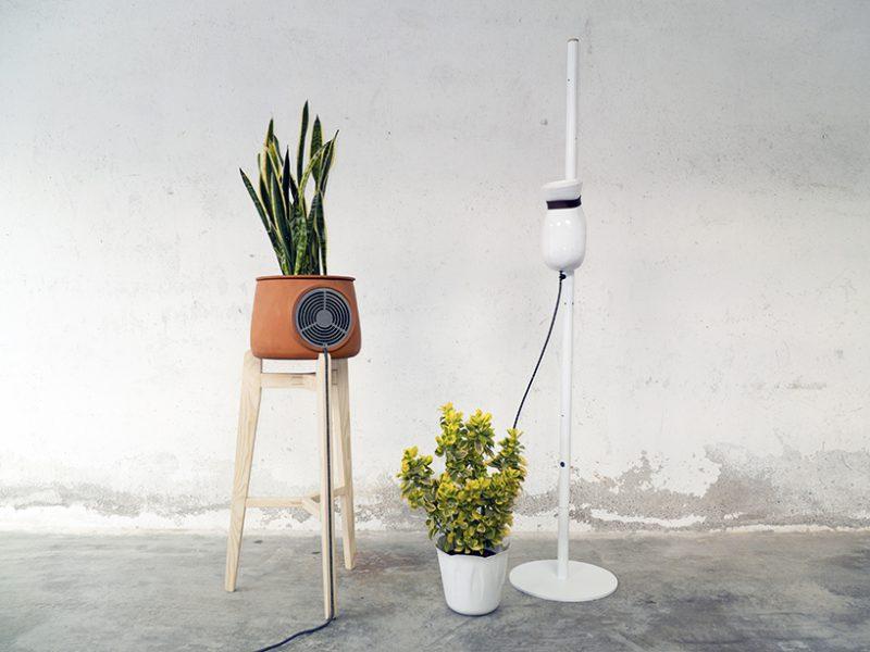 Aeris, purificador de aire ecológico de Lab Fabrici
