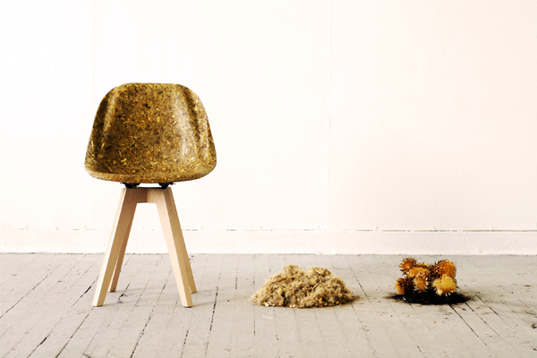 Artichair, la silla vegetal de Kizis Studio
