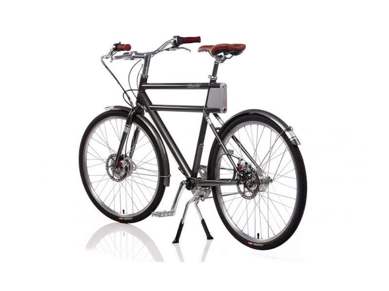 Faraday Porteur, la bicicleta eléctrica inspirada en la posguerra