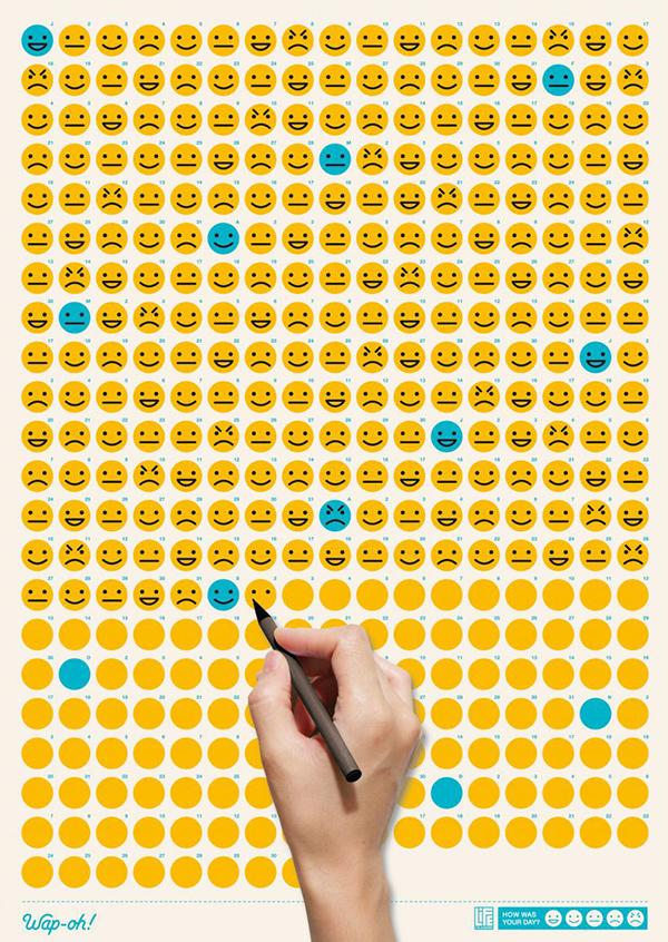 Life Calendar, dibuja como ha sido cada uno de tus días