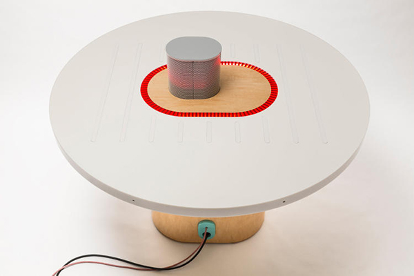 Listening Table, la mesa inteligente de NYT Labs