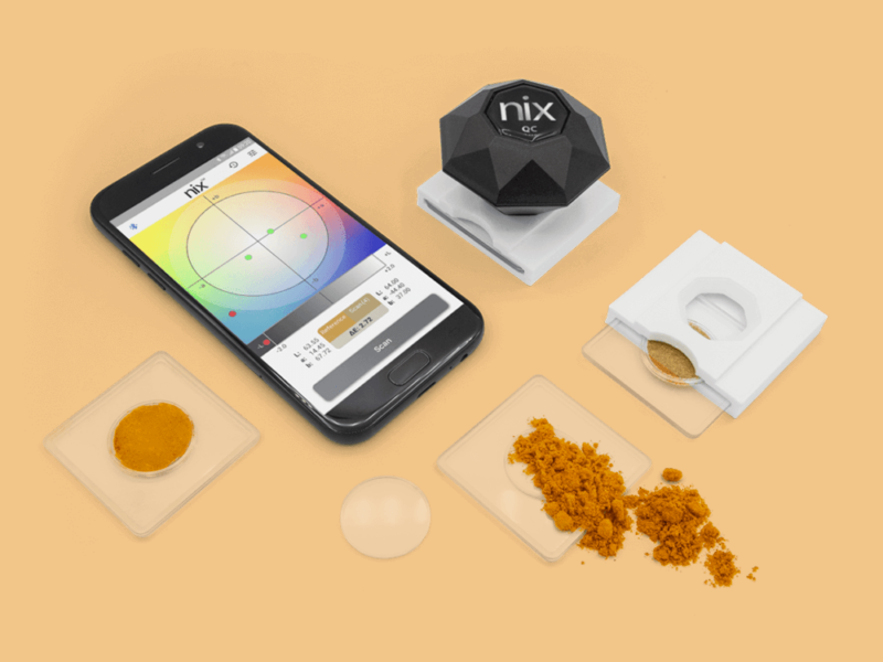 Nix Color Sensor, una pantonera digital de bolsillo