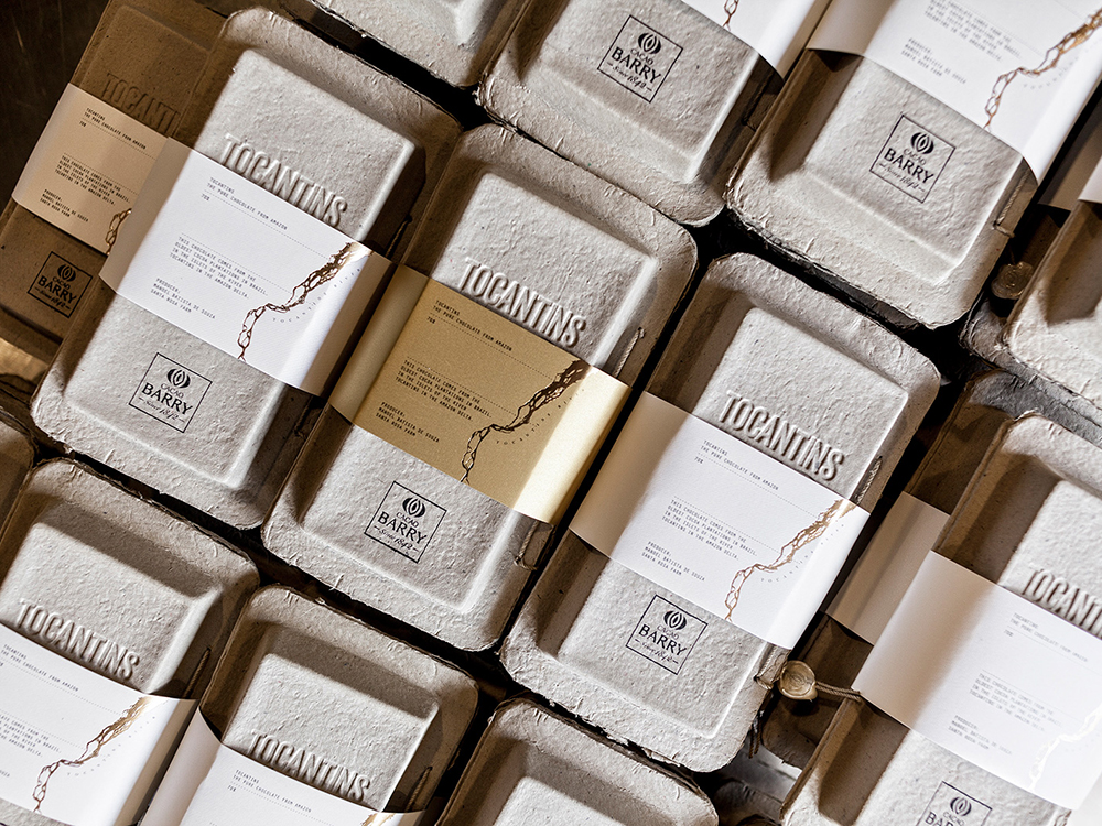 Packaging del chocolate Tocantins: Zoo Studio para Cacao Barry