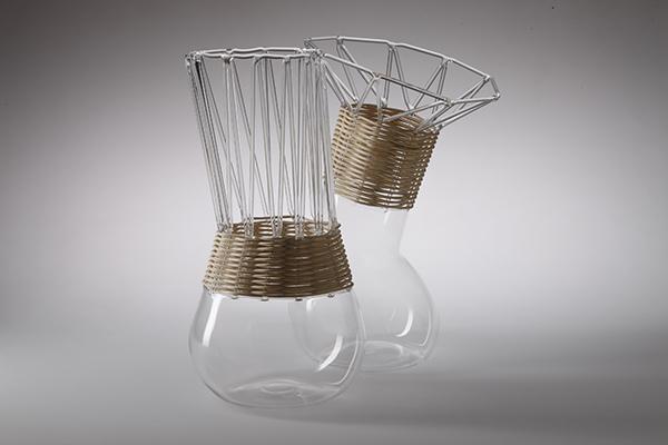 PaneVino, colección de jarras de Faberhama y Massimo Lunardon