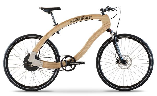 Wooden E-Bike, la primera bicicleta eléctrica de madera
