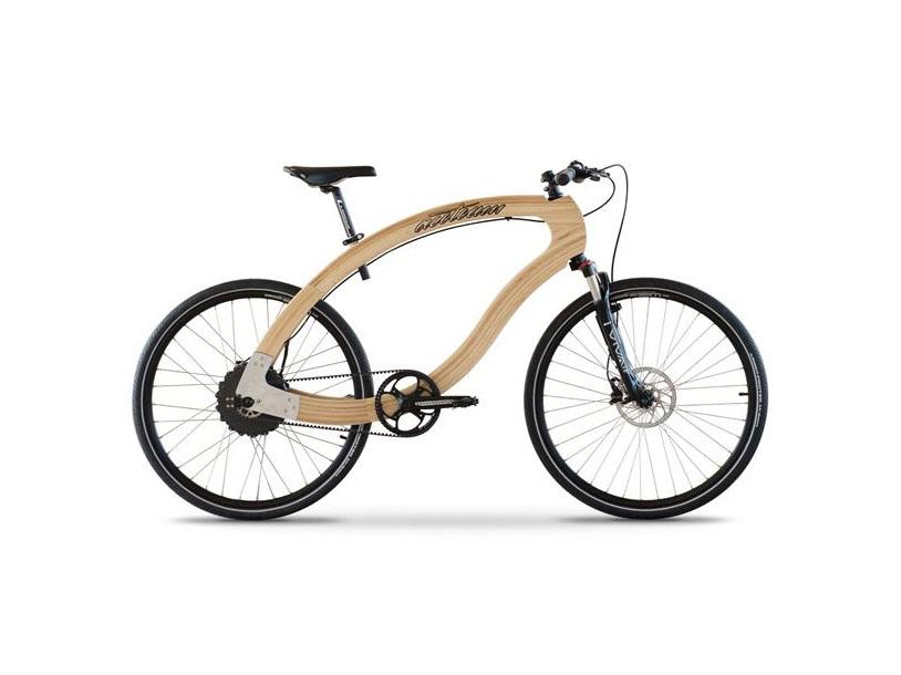 Wooden E-Bike, Aceteam.