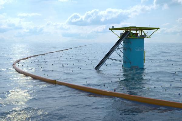 The Ocean Cleanup o cómo limpiar el plástico del océano de una vez por todas