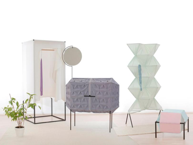 London, el mobiliario textil de Meike Harde