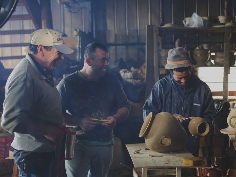 Mapuguaquén, los altavoces artesanales de Documentary Design GbR