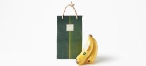 Nendo desarrolla el packaging de los plátanos ecológicos Shiawase Banana