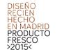 Producto Fresco 2015, diseño recién hecho en Madrid