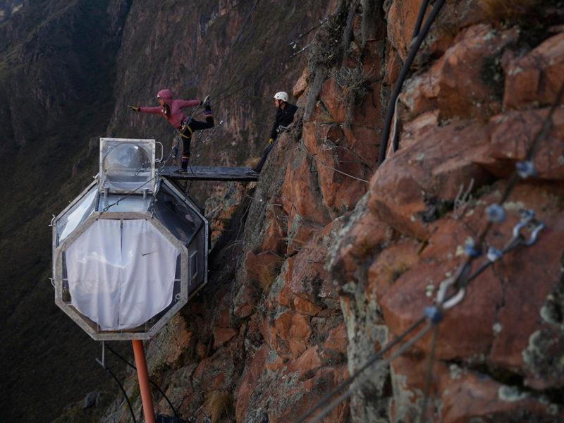 Skylodge Adventure Suites, un hotel de alturas en el Valle Sagrado de los Incas