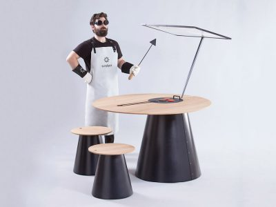Sunplace, la experiencia de la cocina solar de Lanzavecchia + Wai