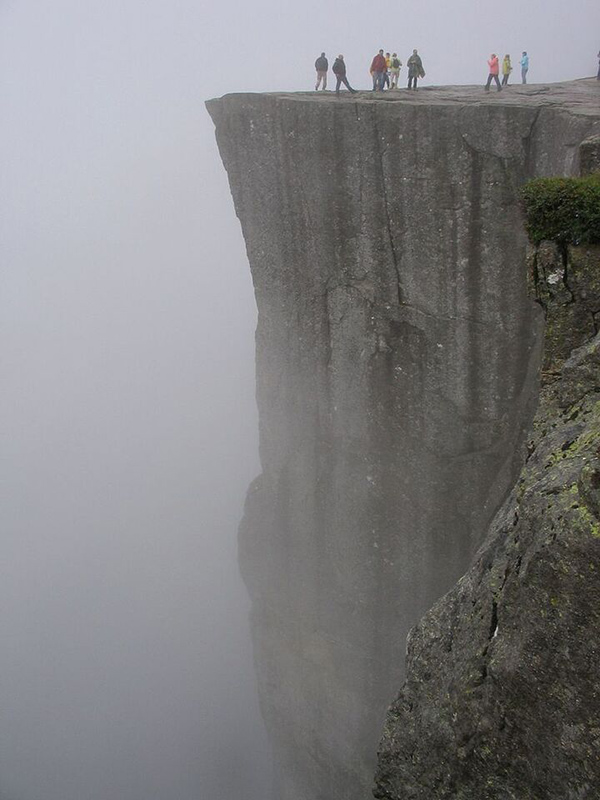 Viewpoint in Pulpit Rock