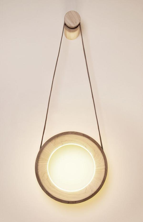 Halo, la lámpara interactiva de Kjartan Oskarsson