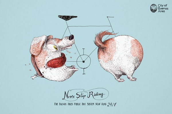 Never Stop Riding, The Community para la ciudad de Buenos Aires