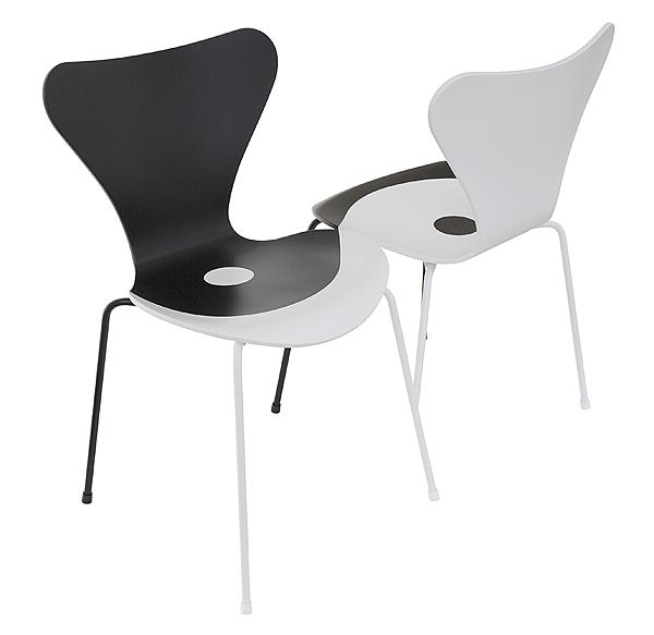 Fritz Hansen reinterpreta la silla Serie 7 de Arne Jacobsen