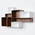 Sistema modular de estantes de Cubit