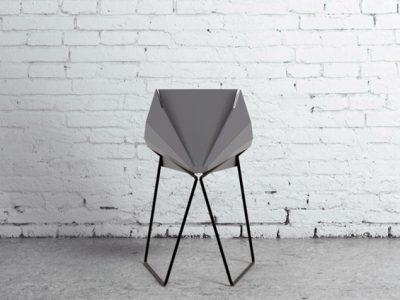 Chair-igami, la silla de origami de Uria Graiver