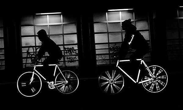 Happarel Bicycles lanza una línea de bicicletas reflectantes