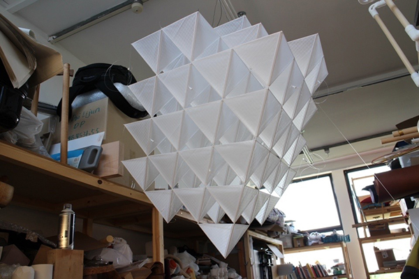 Open Kite, cometa DIY de Sehun Oh Design, 2015.