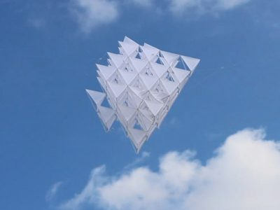 Open Kite, cometa DIY de Sehun Oh Design