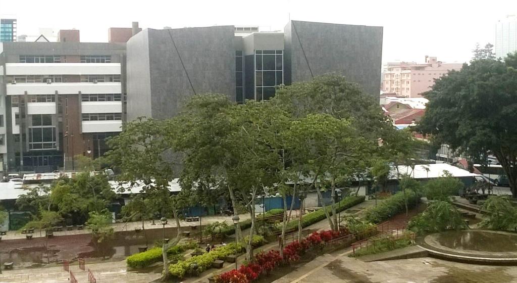 Parte posterior de el edificio del Museo de Jade Precolombino en San José. © LFQ