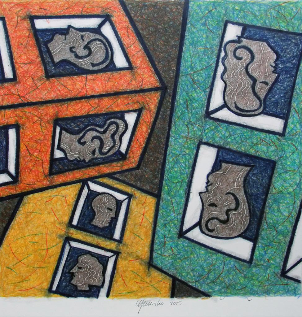 Eugenio Murillo. Mudos ventanales, 2015.