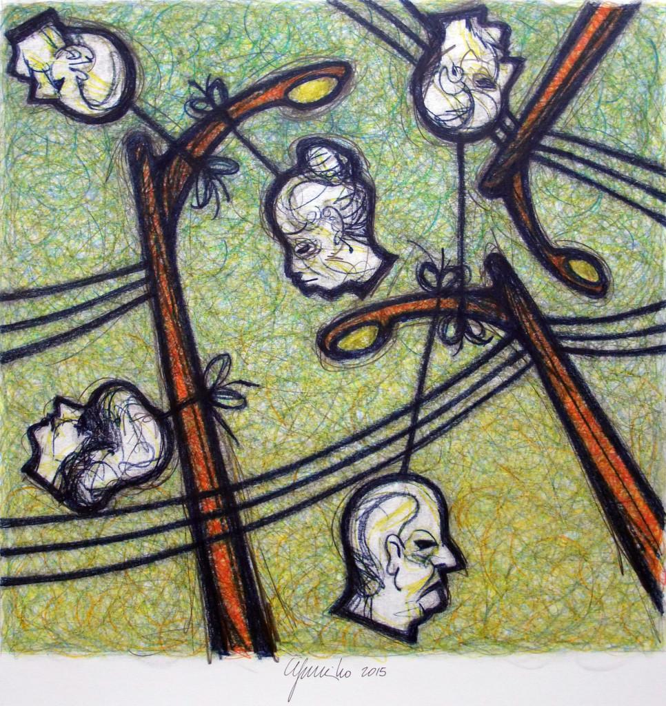 Eugenio Murillo. Pensamientos a la deriva, 2015.