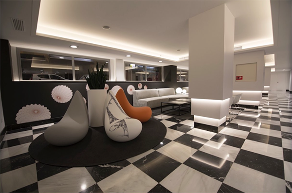 Hoteles Monte, Interiorismo Conceptual Estudio, 2015.
