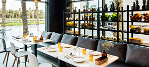 Kuskoa, la silla de Alki en el restaurante Ubon de Kuwait