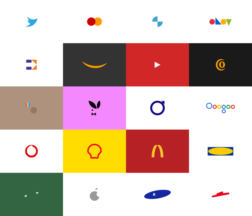 Power of Brands, logotipos minimalistas de Pedro Almeida