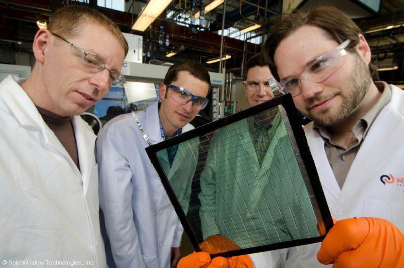 SolarWindow, SolarWindow Technologies, 2015. © Scott Hammond - NREL