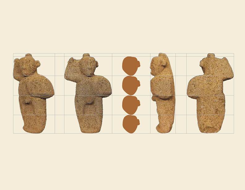 1 henry CanonHenry Vargas Benavides, Sistema de comparación de proporciones para el encaje del dibujo y la escultura. Foto cortesía del autor.