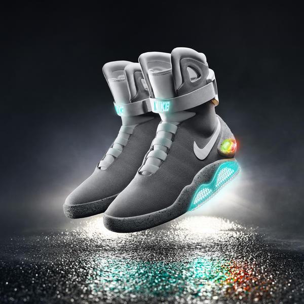 Nike Mag, las zapatillas de Nike para Regreso al Futuro, 2015