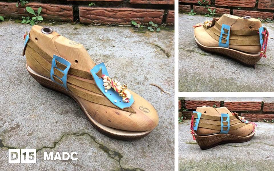 Gatonegro, calzado femenino. Foto cortesía del MADC.